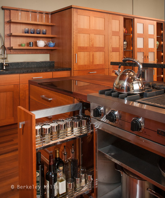 Madera style custom kitchen contemporary kitchen for Kitchen cabinets berkeley