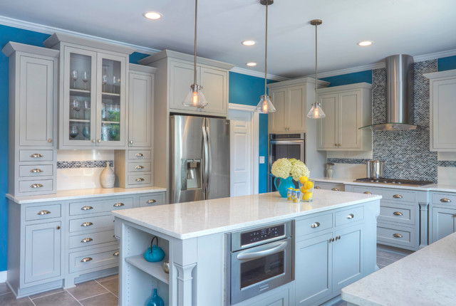 Contemporary kitchen for Accents salon chagrin falls