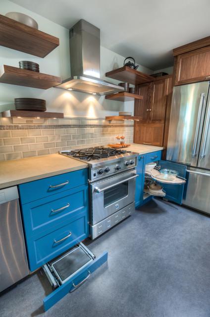 Phinney Ridge Kitchen Remodel contemporary-kitchen