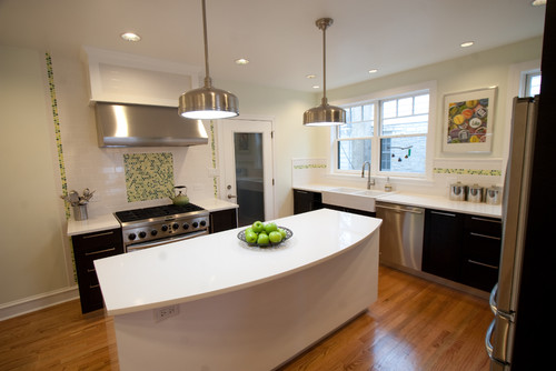 contemporary kitchen by Brooke Marks, Symmetry Home Staging and Design