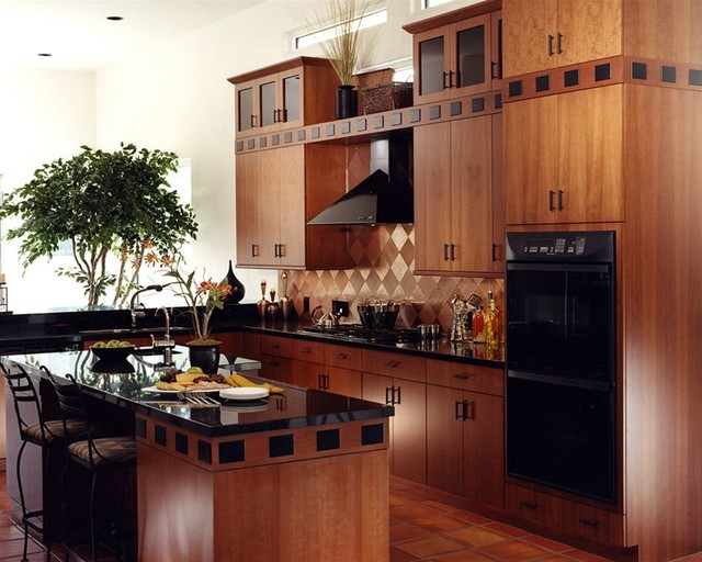 contemporary kitchen cabinets by crestwood contemporary