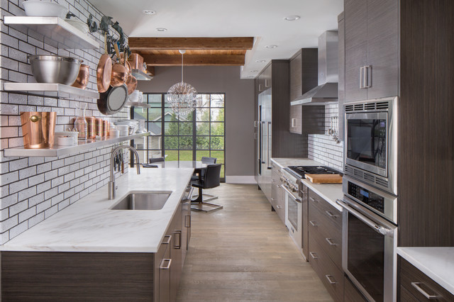 contemporary kitchen cabinets with an industrial feel contemporary kitchen - Contemporary Kitchen Cabinets