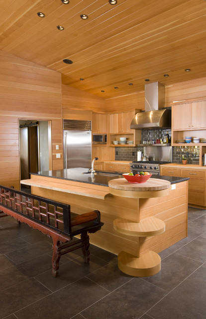 Pickhardt Residence contemporary kitchen