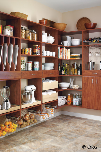 Pantry Ideas contemporary-kitchen