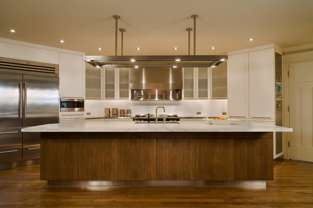 Conard Romano Architects contemporary kitchen
