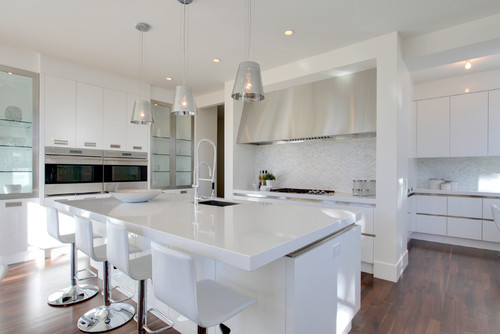 contemporary kitchen Im Dreaming of a White... Kitchen