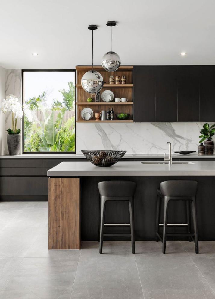 Flat Kitchen Designs: Contemporary Kitchen Design Ideas