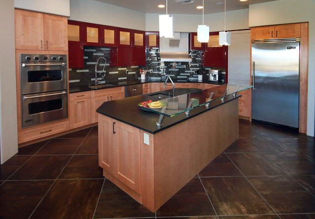 Contemporary kitchen design in tucson contemporary for Kitchen design tucson