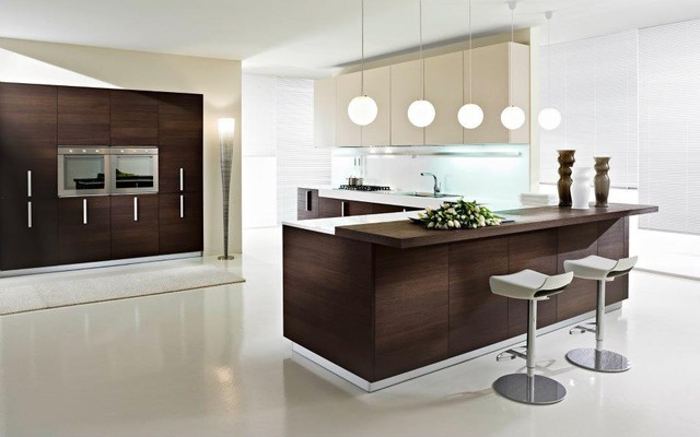 Contemporary Italian Kitchen Cabinets