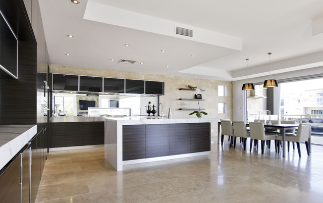 Contemporary Kitchen Design Soverign Island Gold Coast Australia ...