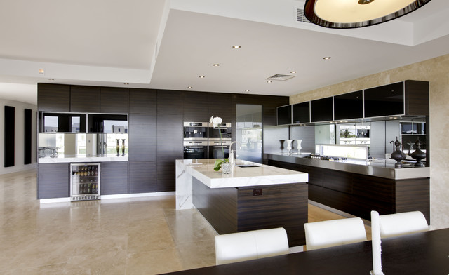 Contemporary Kitchen Design Soverign Island Gold Coast Australia