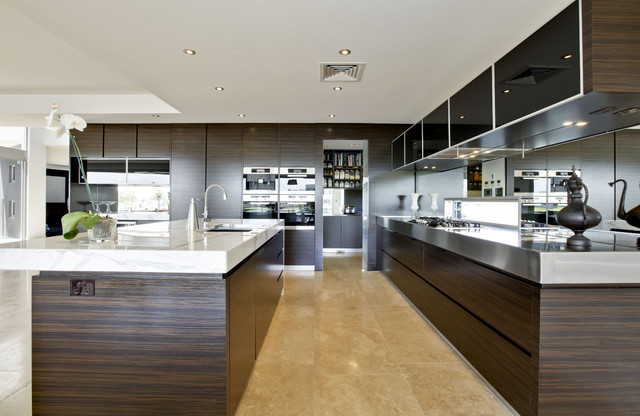 Contemporary kitchen design soverign island gold coast for Kitchen plans with island and pantry