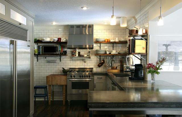 Vernon Avenue contemporary-kitchen