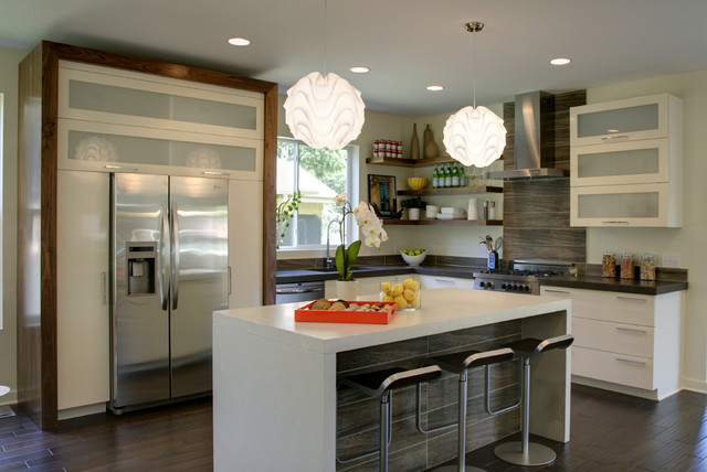 Stanford Contemporary Kitchen Minneapolis By Designed Made Llc