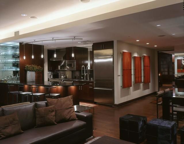 Condo Conversion contemporary-kitchen