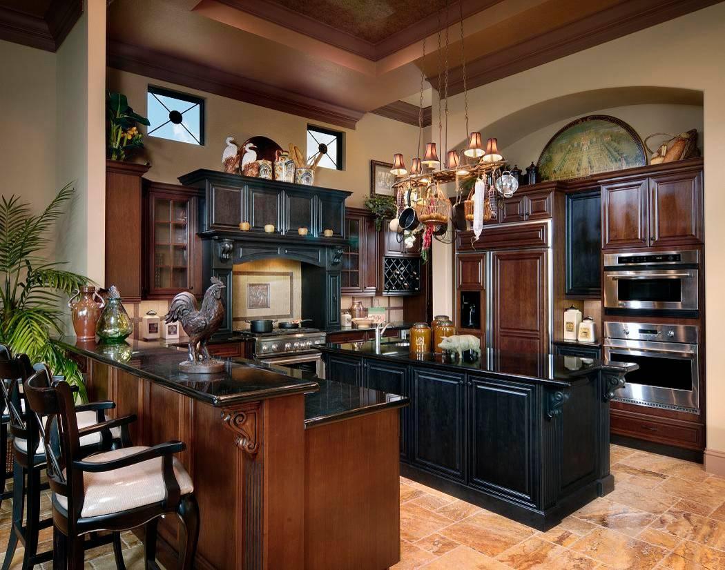 Black And Brown Kitchen Houzz