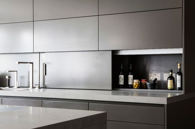 Knightsbridge Apartment Contemporary Kitchen London By Eggersmann Design