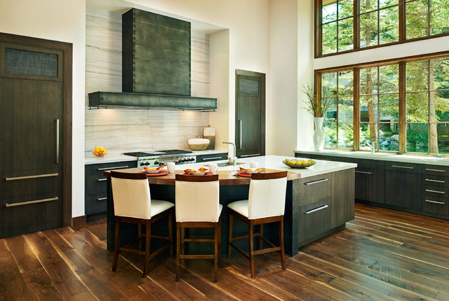 Mountain Bliss Contemporary Kitchen Denver By