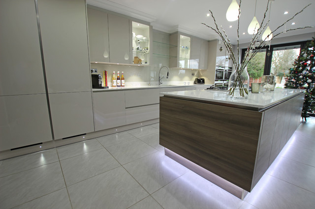 Contemporary kitchen extension Contemporary Kitchen London