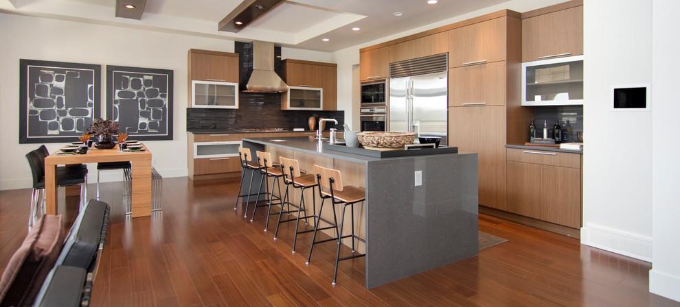 Contemporary Kitchen - Contemporary - Kitchen - Calgary