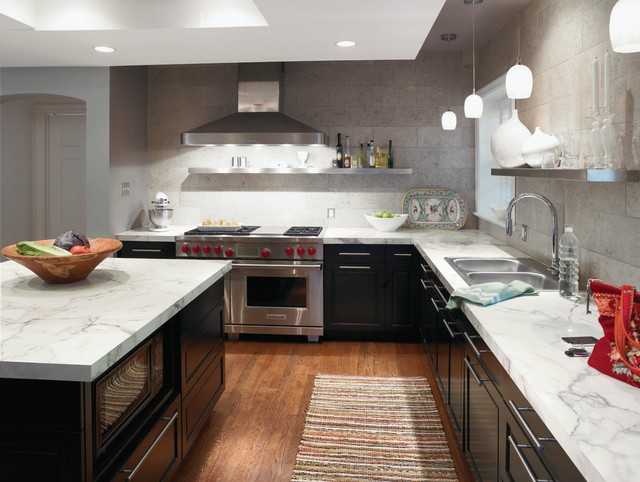 3460 Calacatta Marble 180fx® By Formica Group - Contemporary - Kitchen - Cincinnati - by Formica ...