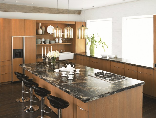 3467 Blue Storm 180fx By Formica Group Contemporary Kitchen