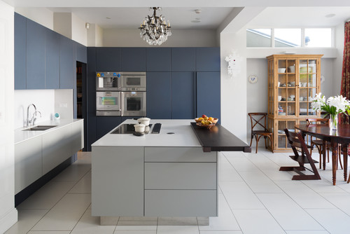 Photo By Granit Co Uk More Contemporary Kitchen Photos Matte Cabinets
