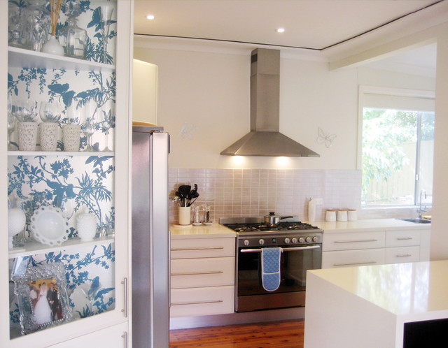 eclectic kitchen by Ish and Chi