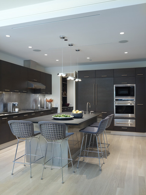 City Retreat contemporary kitchen