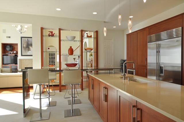 Contemporary Kitchen In Dallas Contemporary Kitchen