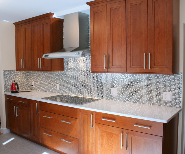 Contemporary Kitchen In Wayland Contemporary Kitchen