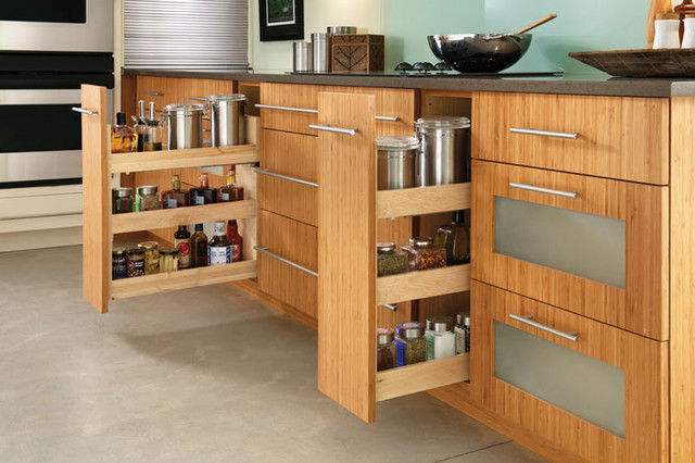 St. Lucia/Sumter - Contemporary - Kitchen - chicago - by ...