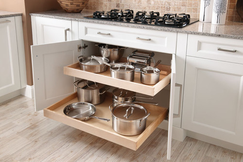 Pot and pan storage ideas