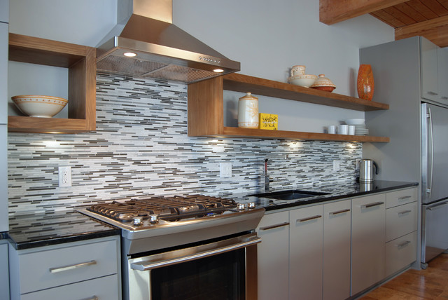 Bentham Condo Remodel contemporary-kitchen