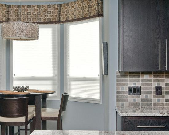 Contemporary valance styles home design photos decor ideas - Modern kitchen valances ...