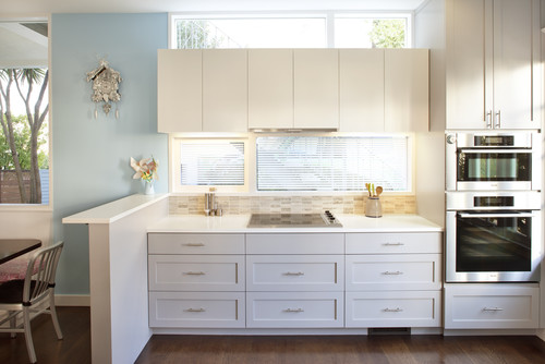 Kitchen Cabinets Above Windows how high is the ceiling. upper cabinets? window above cabinets?