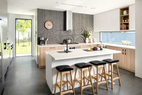 How to Choose Kitchen Cabinetry for Dark Floors | Houzz