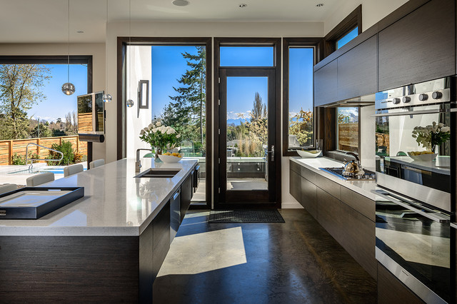 Dwell on Despard - Contemporary - Kitchen - vancouver - by Joshua Lawrence Studios INC