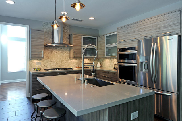 Contemporary Kitchen Contemporary Kitchen Los Angeles By Jrp Design Remodel