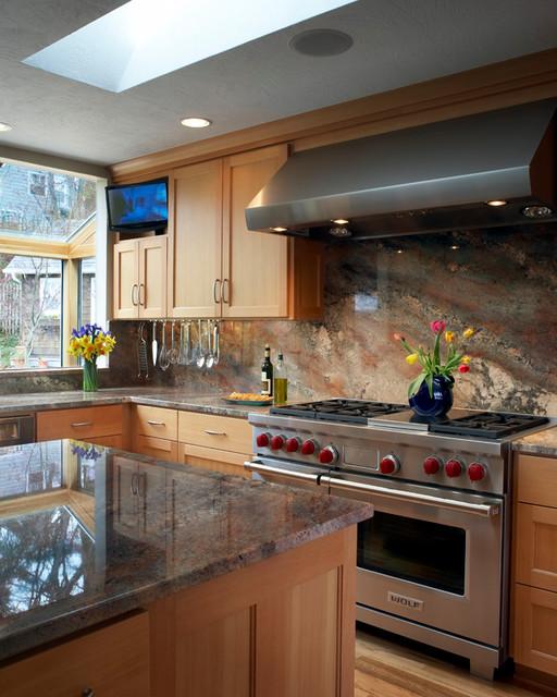 Kraft Custom Construction Professional Kitchen contemporary-kitchen
