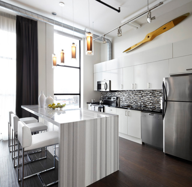 Compact Apartment Kitchens: Small Apartments, Big Style Contemporary-kitchen