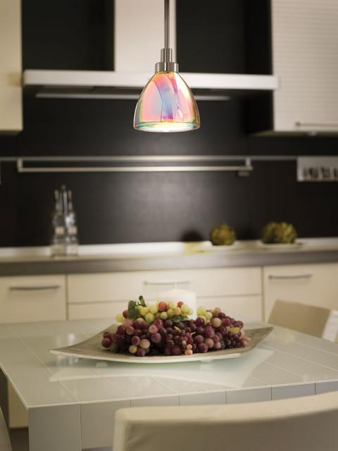 Eglo 90365A Acento Chrome Mini Pendant contemporary-kitchen