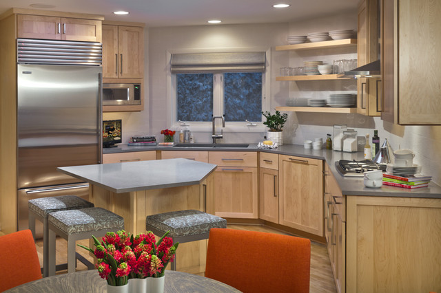 Contemporary kitchen modern kitchen minneapolis by lucy interior design - Kitchen design minneapolis ...