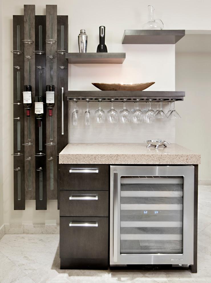 Example of a trendy kitchen design in Miami