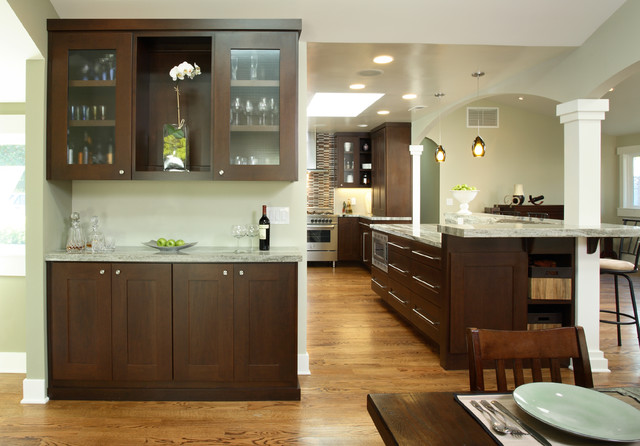 contemporary kitchen by Michelle Miner