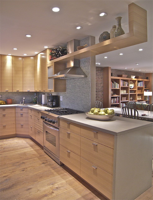 Tribeca Loft Kitchen contemporary kitchen