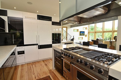 Do you choose a professional range or wall oven and cooktop - Gas electric oven best choice cooking ...
