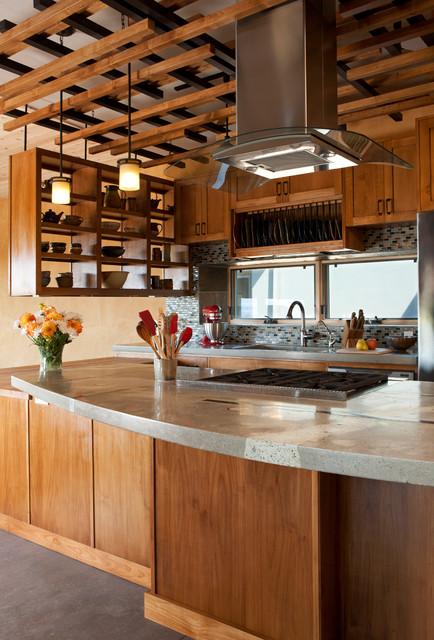 Contemporary Kitchen Southwestern Kitchen