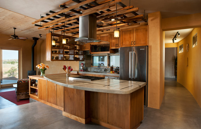 Contemporary Kitchen Southwestern Kitchen