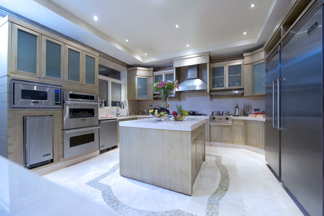 Emirates Hills Dubai UAE Contemporary Kitchen Other Metro By Perla Lichi Design